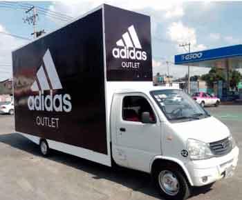 Vallas Móviles Explo Adidas