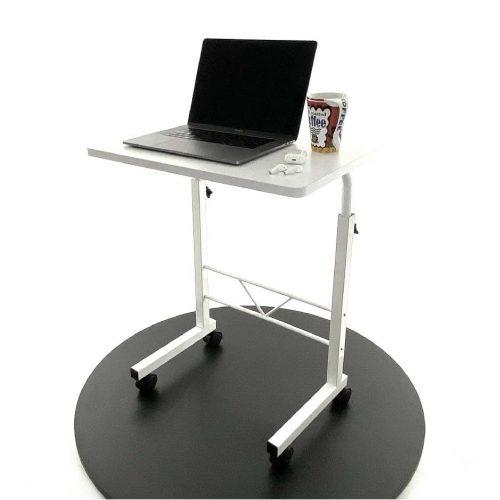 Mesa Escritorio Móvil Ajustable Para Laptop Mesita Pequeña Explo