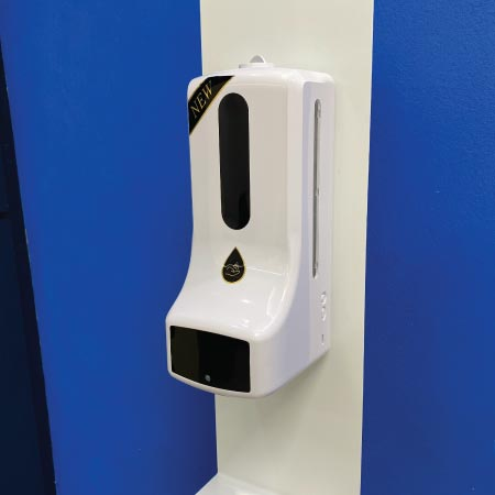 Dispensador Despachador de gel con termometro k9 pro X Explo