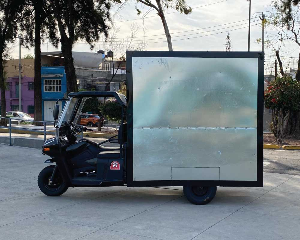 Moto Valla Móvil Publicitaria Explo