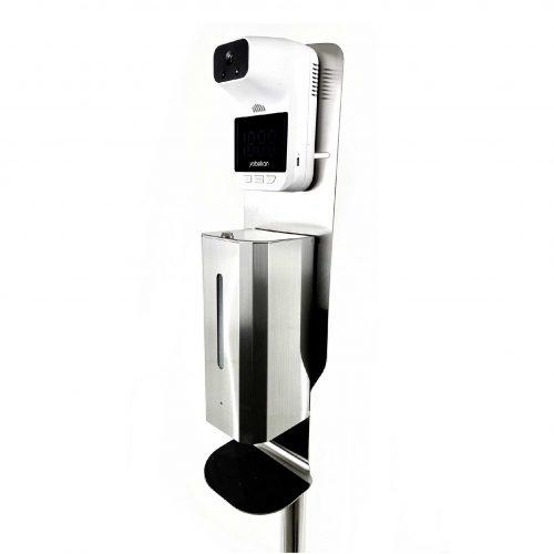 Termómetro y dispensador de gel Explo