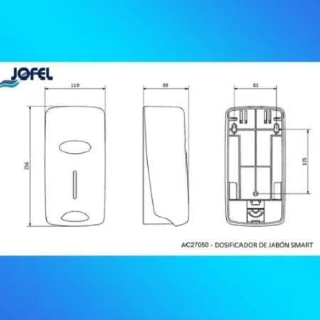 Dispensador para gel y jabón Explo